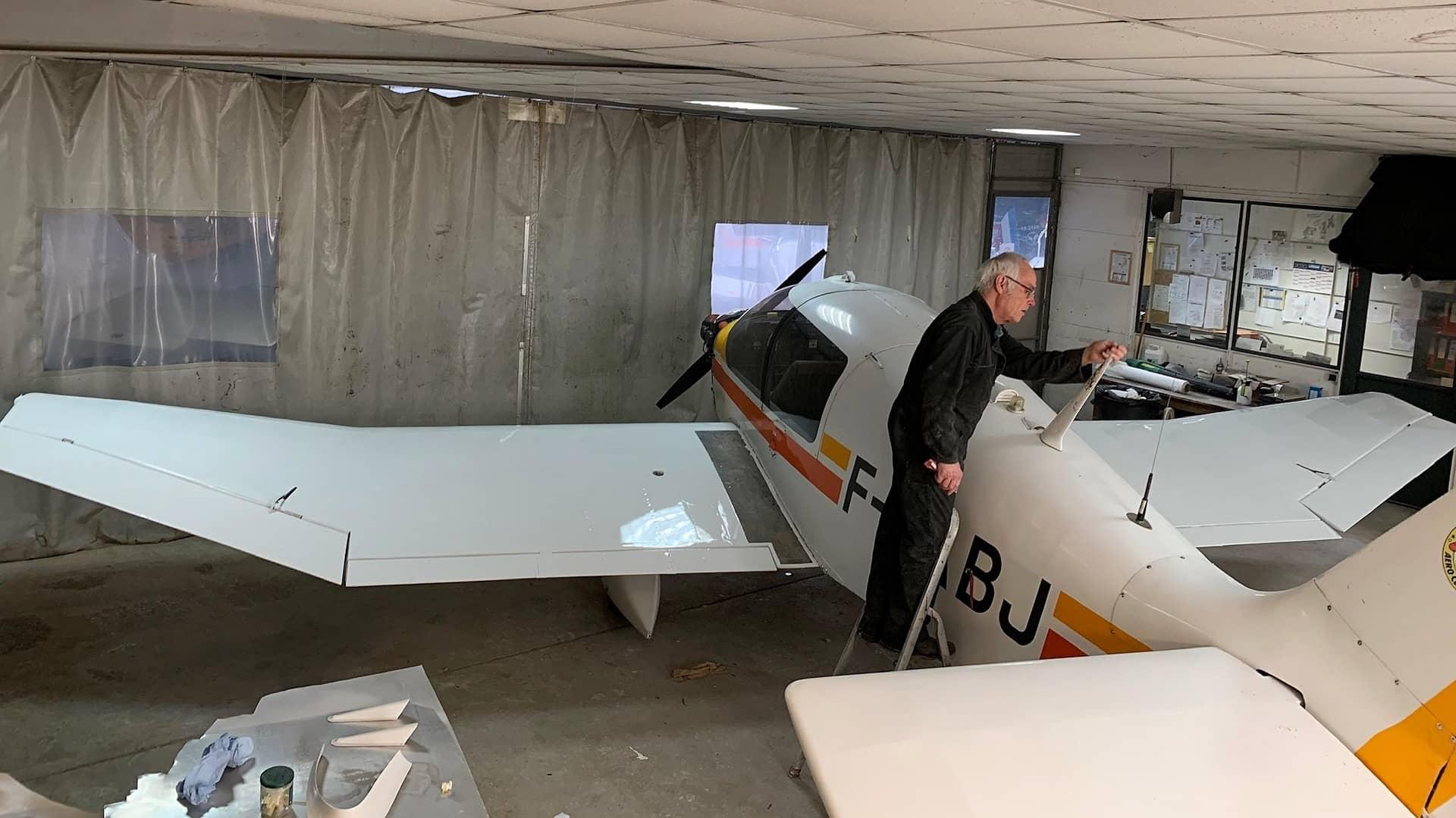 atelier maintenance aéronautique mécanique