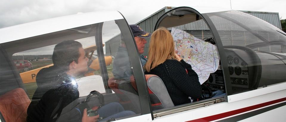 Vol de découverte à l'aéroclub Jean Bertin