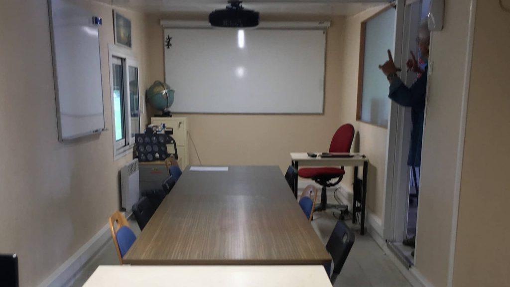 Salle de cours et de réunion de l'aéroclub Jean Bertin