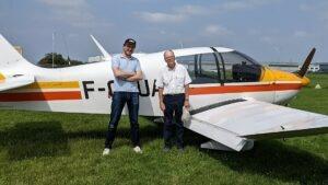 Mathieu Van Dessel lâché sur DR400-120 !