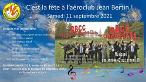 Fête de l'Aéroclub Jean Bertin - 11 septembre 2021